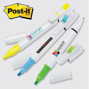 Post-it® Trio Series Custom Printed Flag, Pen & Highlighter Combo